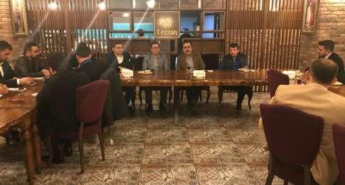 Genç Girişimciler Başkan Öztürk'le Bir Araya Geldi